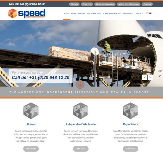 Speed. Airfreight wholesale: