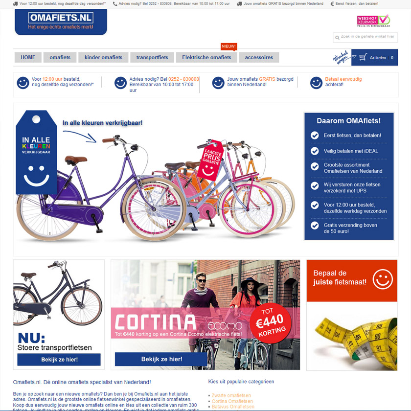 Omafiets.nl-design-template-magento-webshop-2